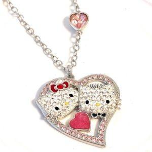 💎Swarovski Hello Kitty Valentines 💗 Pendant